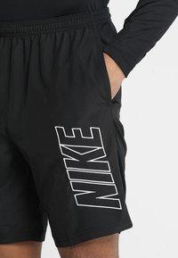 Nike Performance - DRY ACADEMY SHORT - Sports shorts - black/white - 4