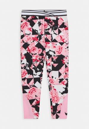 TOKYO FLORAL LEGGING - Legíny - pink