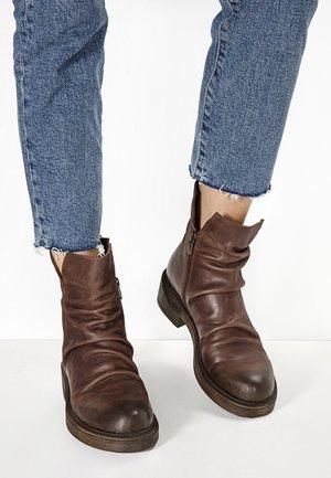 Ankle boots - dark brown dbn