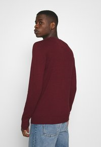 Hollister Co. - CORE CREW - Pullover - dark red - 2