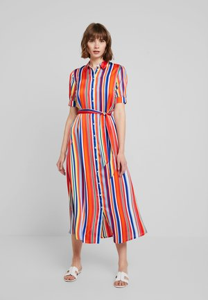 VICOLOURFULL ANKLE DRESS - Maxi šaty - cherry tomato/multi