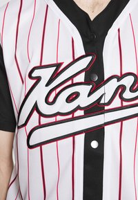 Karl Kani - VARSITY BLOCK BASEBALL - Shirt - black - 3