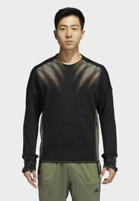 adidas Performance - DESIGNED4TRAINING COLD.RDY SPORTS PULLOVER - Sweatshirt - black - 0