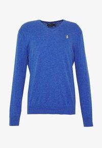 Polo Ralph Lauren - LONG SLEEVE - Strickpullover - blue - 4