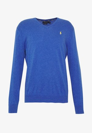 LONG SLEEVE - Strikpullover /Striktrøjer - blue