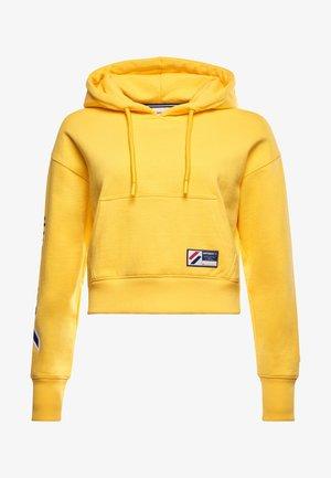 Hoodie - nautical yellow