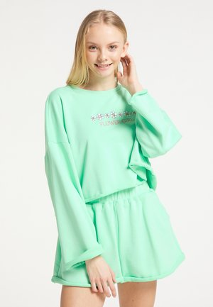 SET AUS SWEATWARE - Sweatshirt - mint