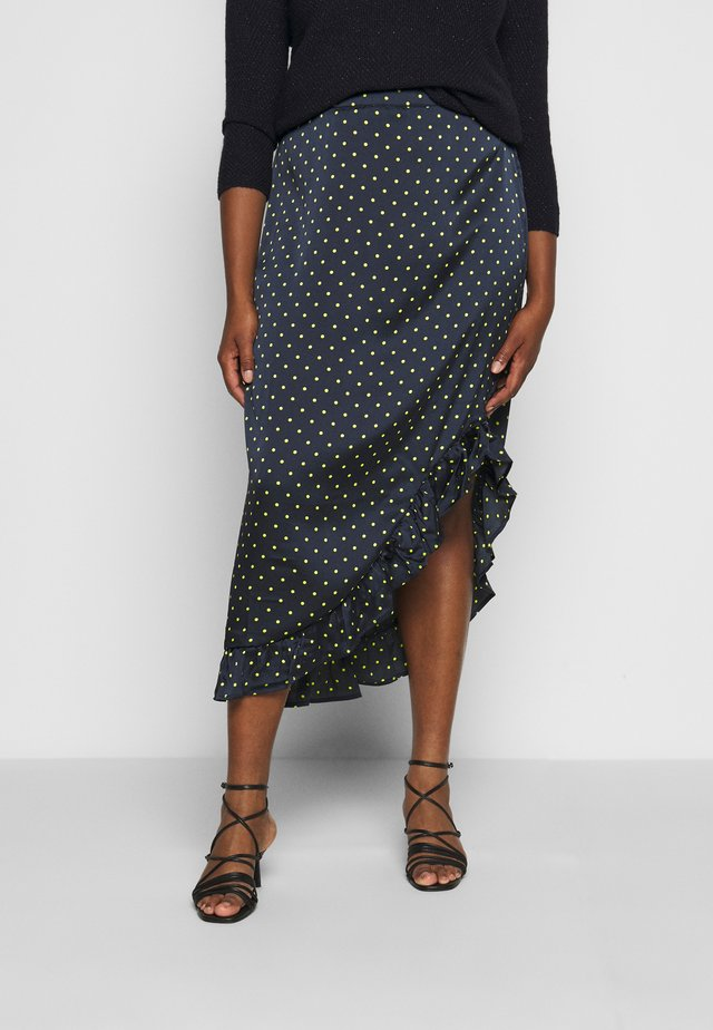HALE SKIRT - Pencil skirt - midnight marine