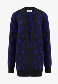 Sugarhill Brighton - ALLIE IKAT ANIMAL - Cardigan - black - 4