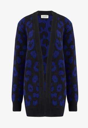 ALLIE IKAT ANIMAL - Cardigan - black