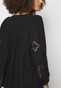 See by Chloé - T-shirt à manches longues - black - 5