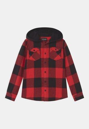 FREAMS HOOD CHECK - Overhemd - red
