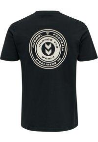 Hummel Hive - T-shirt print - dark navy - 2