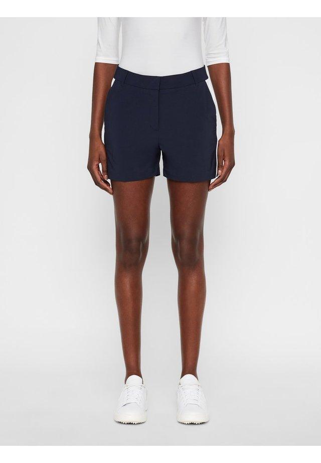 GWEN - Pantalones montañeros cortos - navy