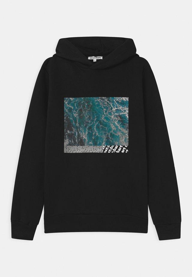 MERVAN HOODIE - Sweatshirt - black
