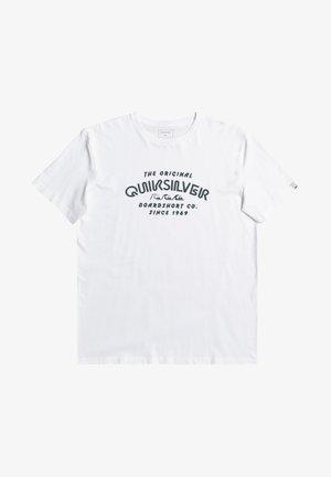 WIDER MILE - Print T-shirt - white