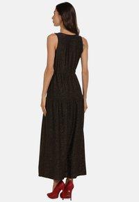 faina - Maxi dress - schwarz gold - 2