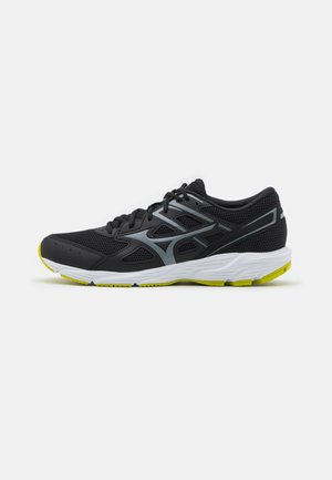 SPARK - Neutral running shoes - black/metallic gray/ evening primrose