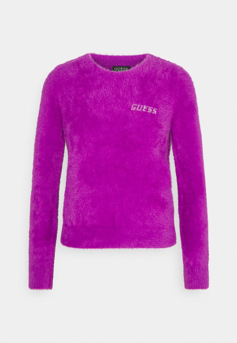 Guess ROSMARY - Strickpullover - magenta lust/pink lQSjm5