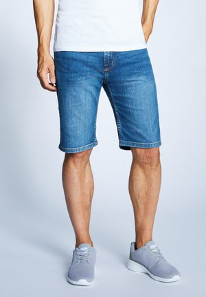 Denim shorts - light stone