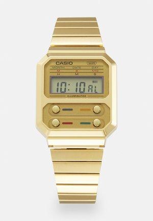 F100 REVIVAL UNISEX - Orologio digitale - gold-coloured