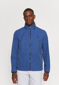Polo Ralph Lauren Golf - HOOD ANORAK JACKET - Outdoor jacket - bastille blue - 0