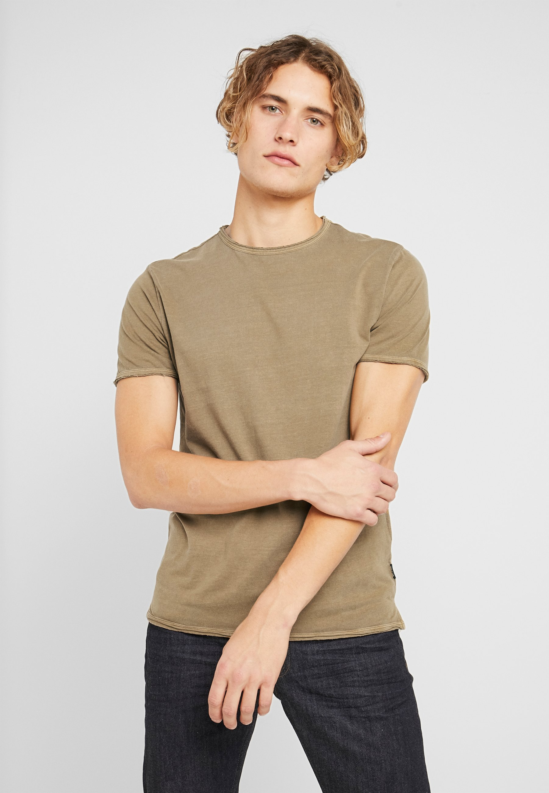 Homme ONSALBERT WASHED O-NECK - T-shirt basique