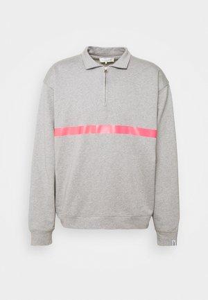SEEM - Polo shirt - grey/pink
