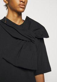 MM6 Maison Margiela - Jersey dress - black - 5