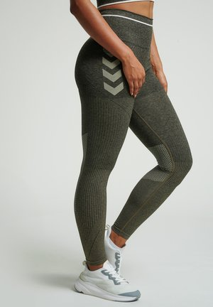 Leggings - vetiver melange