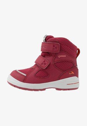 SPRO GTX - Winter boots - dark red/red