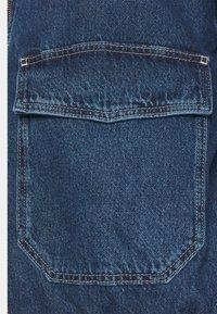 BDG Urban Outfitters - HOODED SKATE JACKET - Jeansjakke - dark vintage - 5