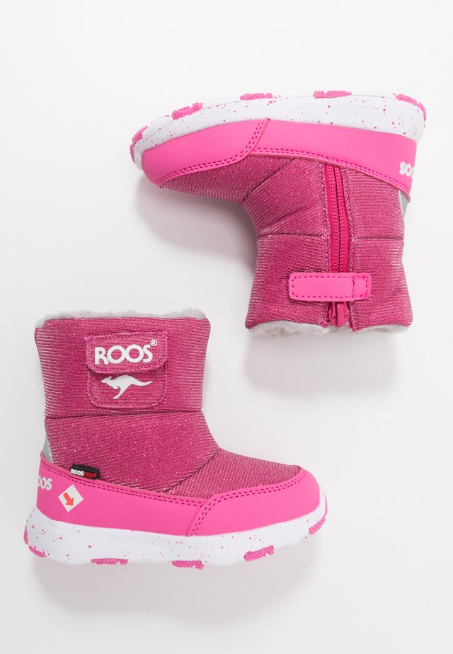 SNOWBALL - Winter boots - daisy pink