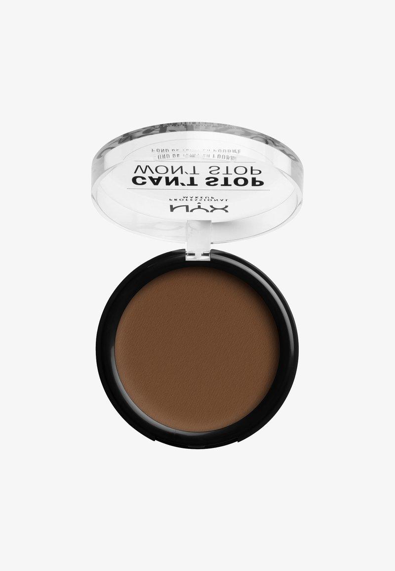 Nyx Professional Makeup - CAN'T STOP WON'T STOP POWDER FOUNDATION - Poudre - CSWSPF19 mocha