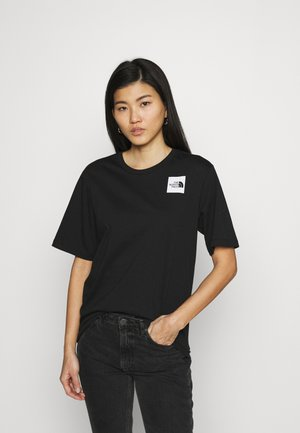 FINE TEE - Camiseta estampada - black