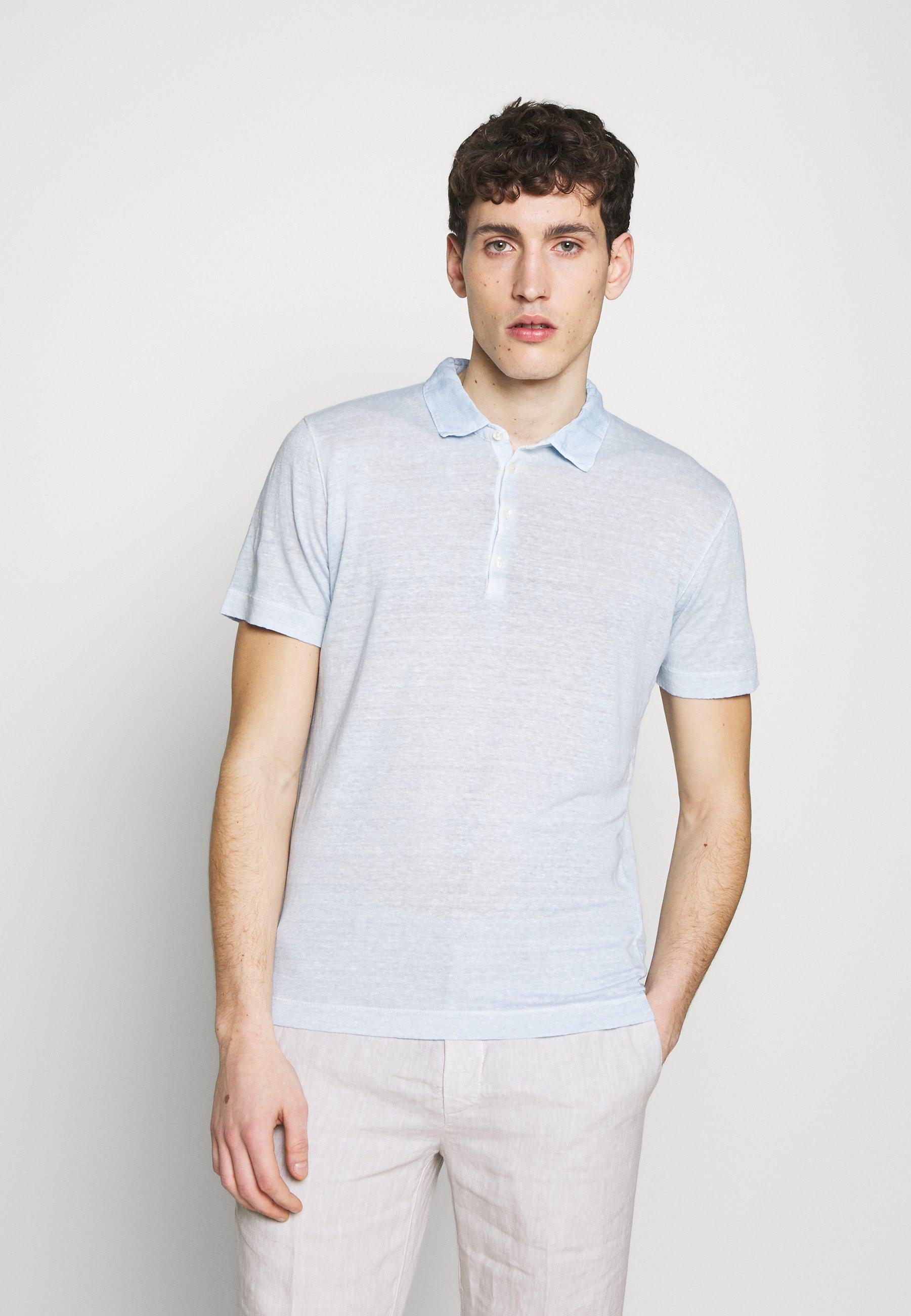 Zakup Gorąca wyprzedaż 120% Lino Koszulka polo - pacific blue soft fade | Odzież męska 2020 3yvxC