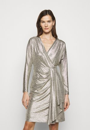 Cocktail dress / Party dress - beige/gold