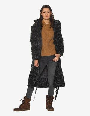 PARKA CAMUFLAGE - Winter coat - black