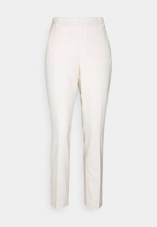 GERRY TWIGGY PANT - Pantaloni - ecru