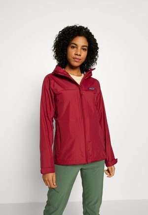 TORRENTSHELL - Hardshellová bunda - roamer red