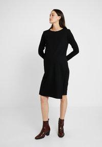 Boob - GRACE DRESS - Žerzejové šaty - black - 0