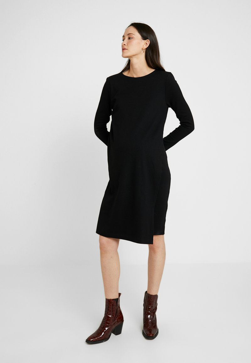 Boob - GRACE DRESS - Žerzejové šaty - black