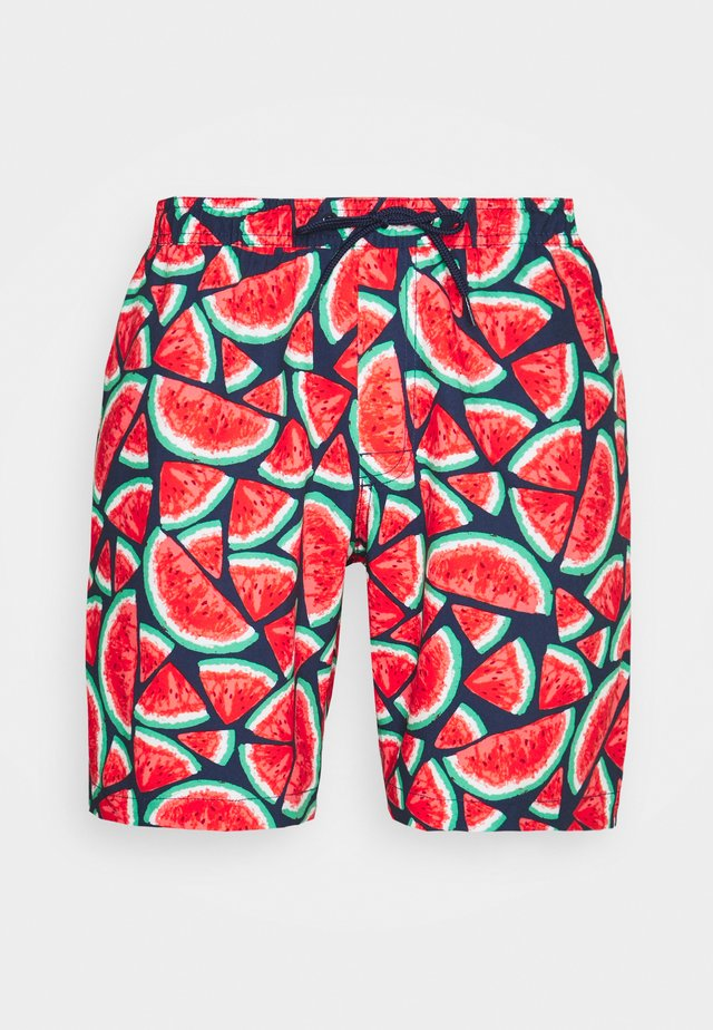SWIM TRUNK NEW - Swimming shorts - watermelon