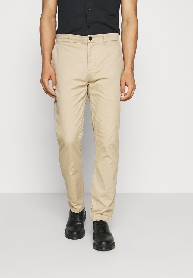 CHINO TROUSERS - Chinos - khaki