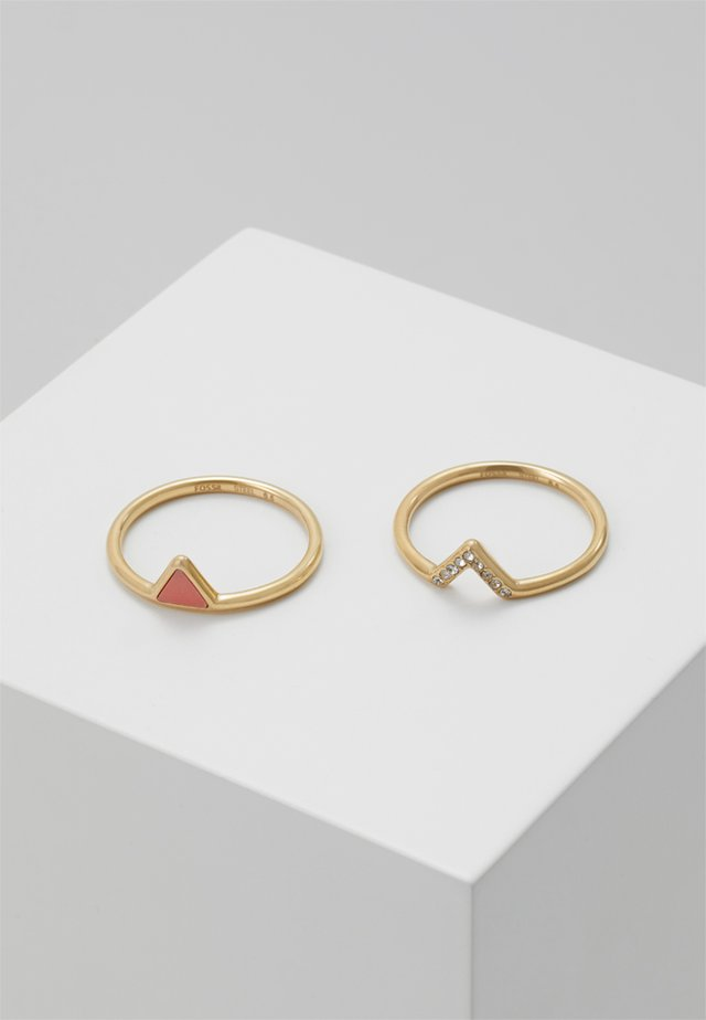 FASHION 2 PACK - Ring - gold-coloured
