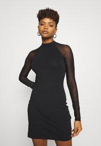 Even&Odd - Pouzdrové šaty - black - 0
