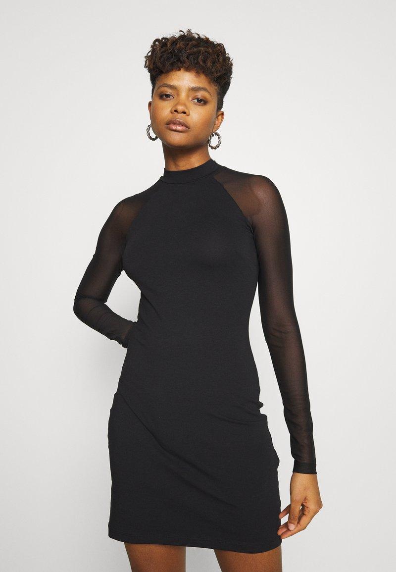 Even&Odd - Pouzdrové šaty - black