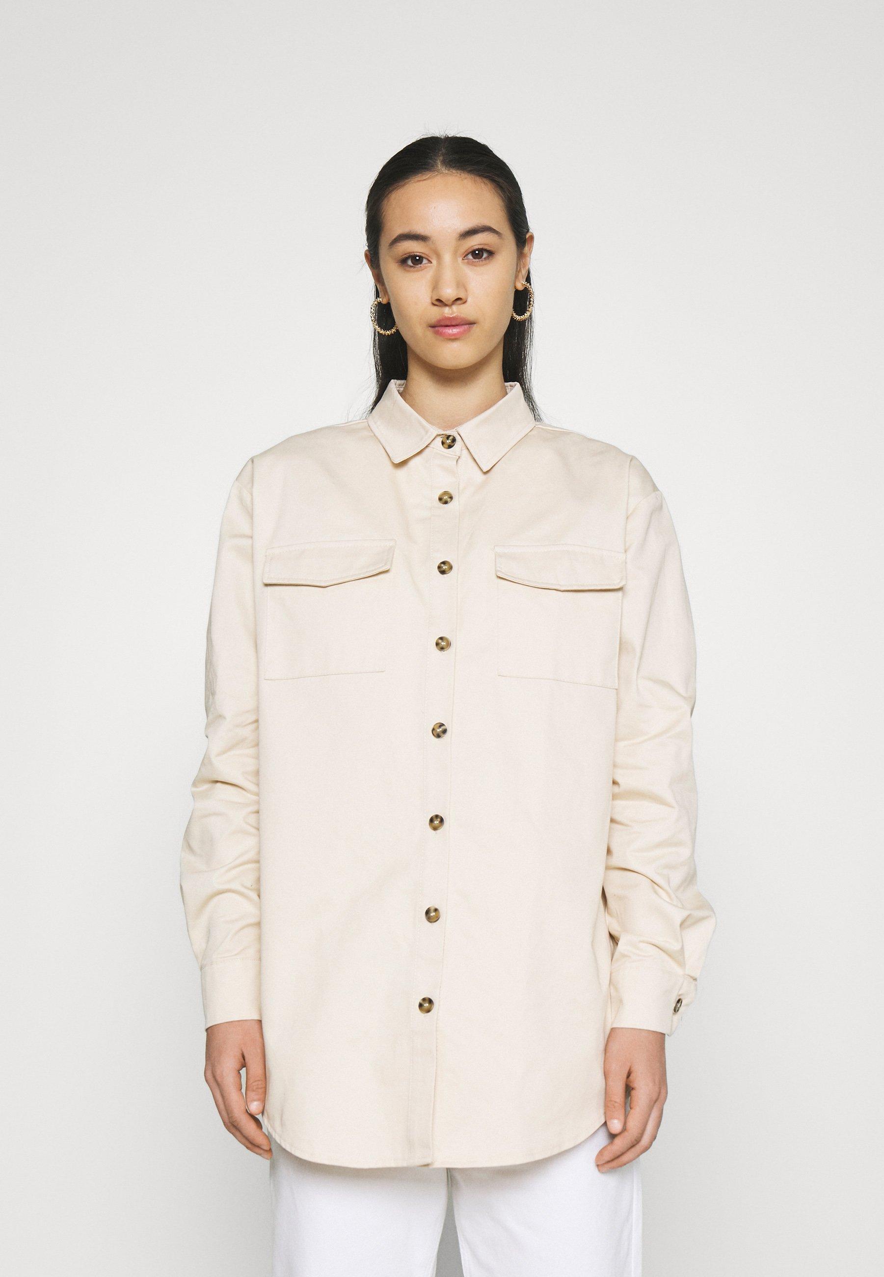 Women POCKET DETAIL - Button-down blouse