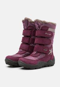 Primigi - Zimní obuv - sangria/gelso - 1