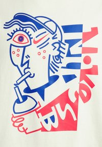 Nike SB - TEE SLURP UNISEX - T-shirt med print - coconut milk - 2